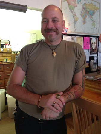 Vancouver, WA: Owner Kenny Fletcher - coffee expert and nicest guy in town!