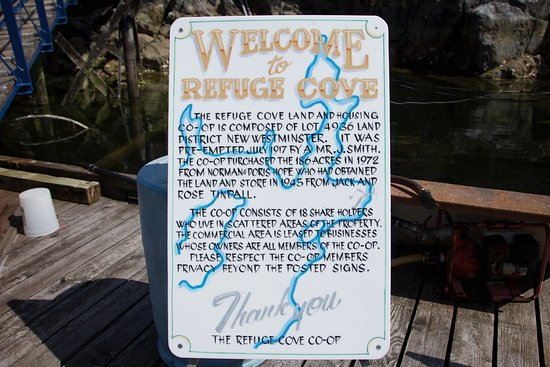 Welcome to Refuge Cove