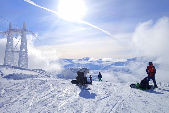 Narvikfjellet Ski Resort Winter Time