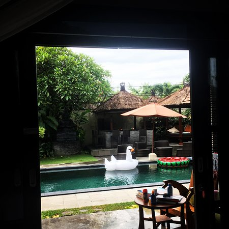 Villa Bugis: view from the bed!