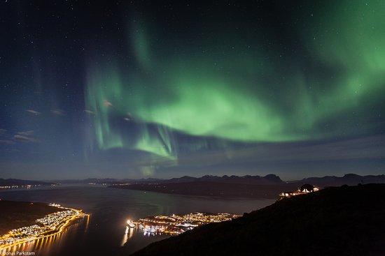 Narvikfjellet Ski Resort Northern Lights
