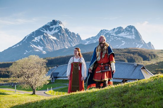 Vestvagoy, Norvège : Meet the Vikings! Photo Kjell Ove Storvik/Lofotr Vikingmuseum