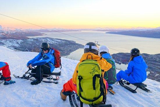 Narvikfjellet Ski Resort Wintertime