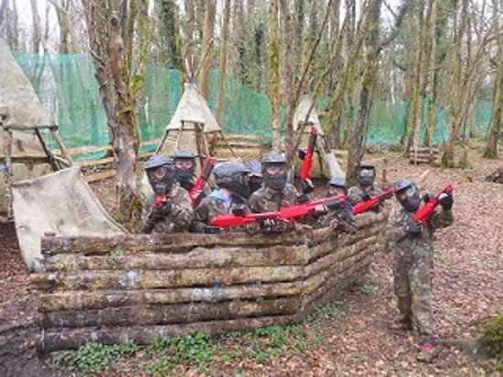 Quin, Irland: Splatball -Paintball for kids aged 10+