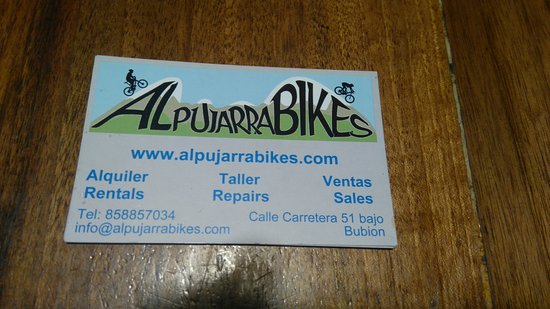 Bubion, Ισπανία: Alpujarra Bikes