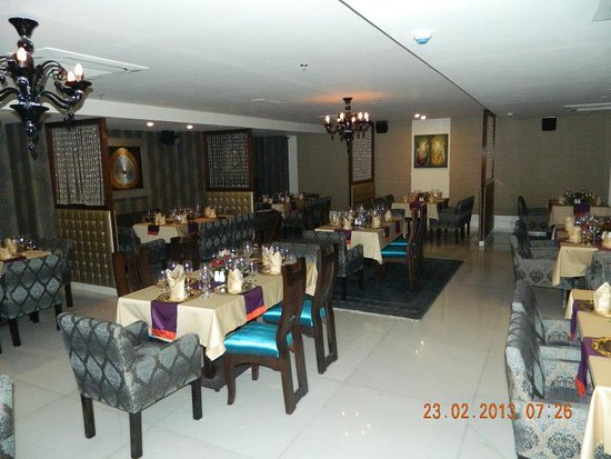 Avaas Lifestyle Hotel: Restaurant
