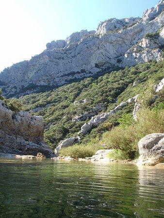Caudies de Fenouilledes, France: L'une des, nombreuses, magnifiques vue depuis les gorges de galamus