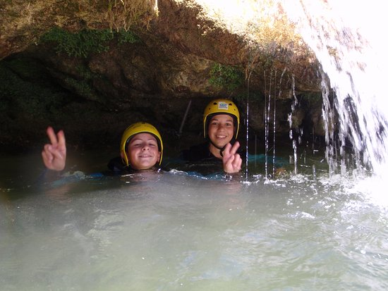Caudies de Fenouilledes, France: Galamus les cascades de tuf !
