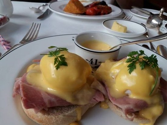 Hotel 41: Best Eggs Benedict ever