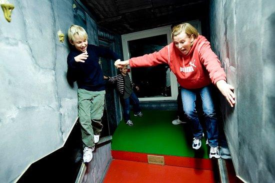 Oxelosund, Suecia: En fysisk utmaning där rött är förbjudet och grönt är tillåtet.