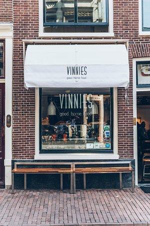 Photo of Cafe Vinnies at Haarlemmerstraat 46 Hs, Amsterdam 1013 ES, Netherlands