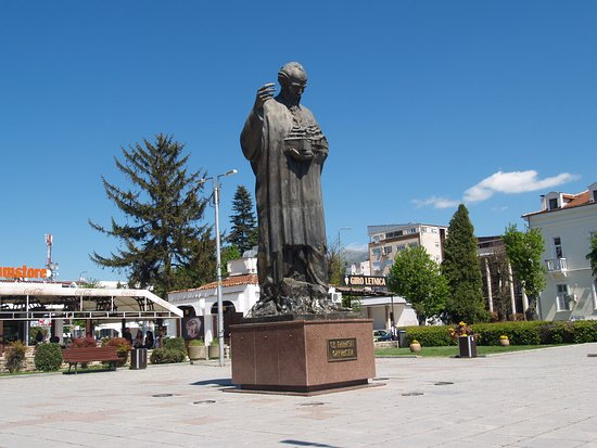 ‪Monument to St. Naum of Ohrid‬