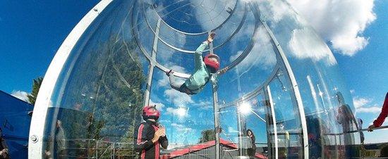 Champforgeuil, Francia: soufflerie sportive à ciel ouvert