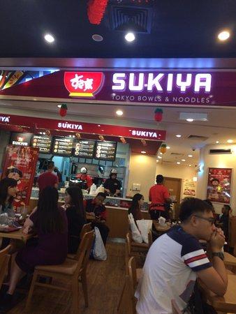 Sukiya I0I City mall,
