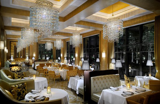 The Palace At Oneu0026Only Royal Mirage Dubai: Celebrities Restaurant, Main  Dining Room, The