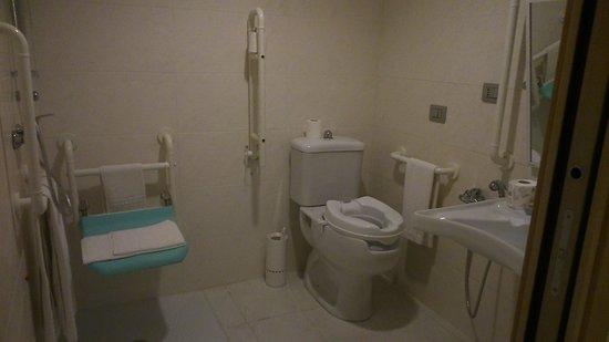 Secondo bagno anche per disabili - Picture of Janus Hotel ...
