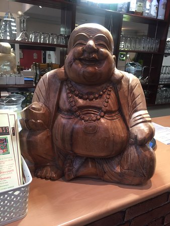 Lemongrass: Our lucky Buddha greets you
