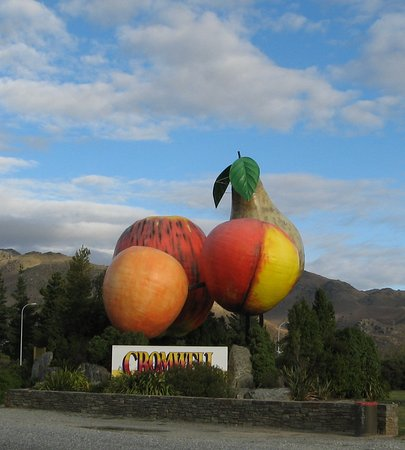 The Fruit Sculpture in Cromwell
