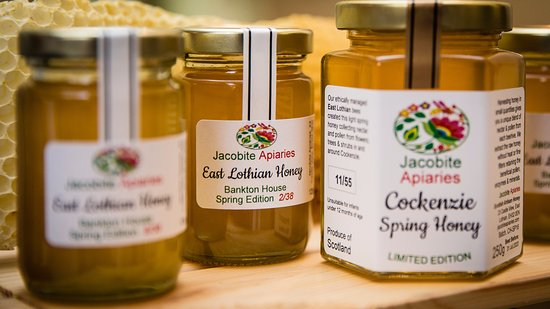 Haddington, UK: Jacobite local honey