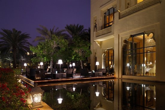 The Palace at One&Only Royal Mirage Dubai: Celebrities Terrace, The Palace, One&Only Royal Mirage, Dubai