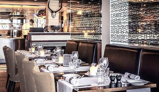 Rungsted, Dinamarca: Restauranten stuen