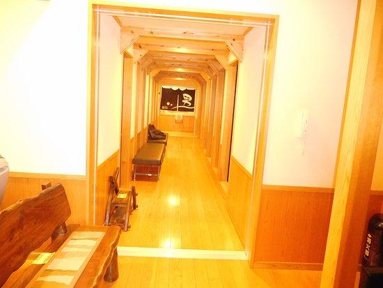 Chikugo, Ιαπωνία: 館内の廊下