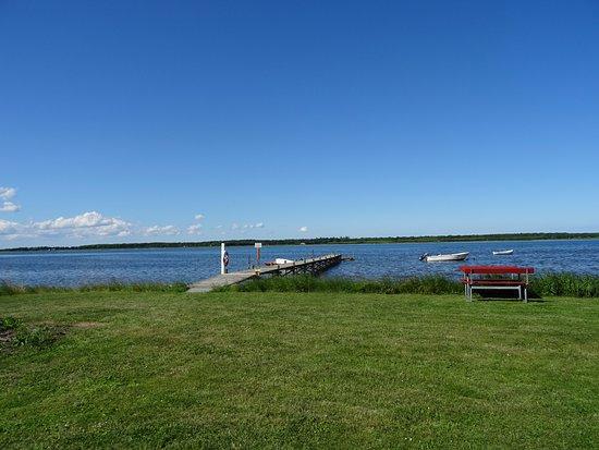Storvorde, Danmark: Einer der wenigen Campingplätze direkt am Meer