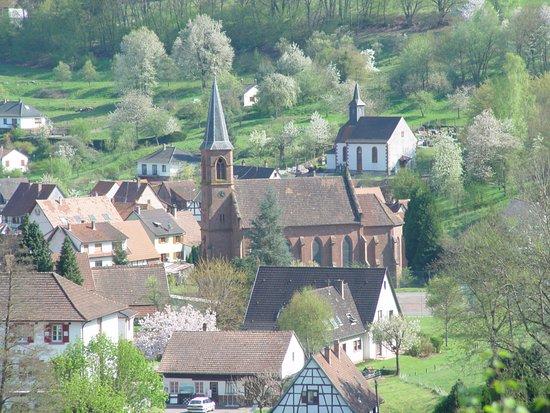 village de Niedersteinbach - Photo de Hôtel Restaurant Au Cheval Blanc, Niedersteinbach - Tripadvisor