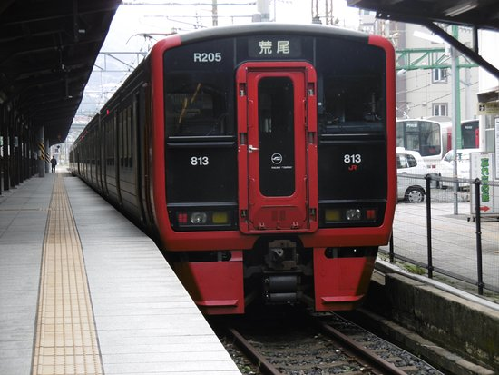 Kyushu-Okinawa, Japan: 門司港駅の荒尾行き電車