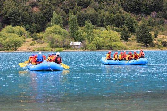 Puerto Bertrand, Chile: Comienza la Aventura