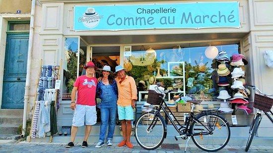 Ars-en-Re, França: Chapellerie rue Kemmerer
