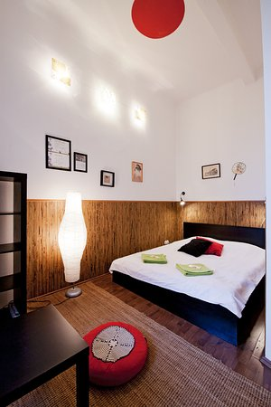 """Aventura Boutique Hostel: """"Japan"""" double room with shared bathroom"""