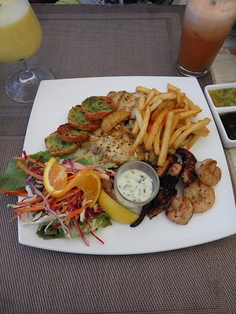 Blue Lagoon Cafe: Seafood platter