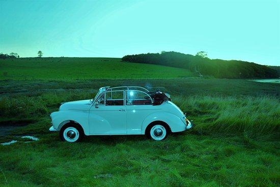 Lawrenny, UK: Louie Our Lovely Little Morris Minor idea for Weddings