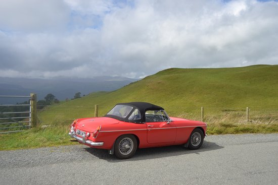 Lawrenny, UK: Our MGB Roadster idea for exploring lovely Pembrokeshire and surrounding areas.