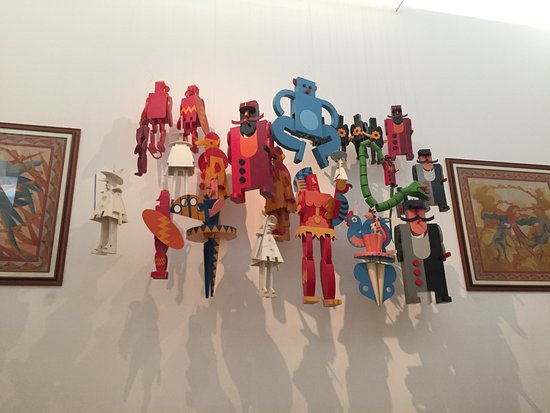 Galleria Museo Depero: Atmosfera fantastica