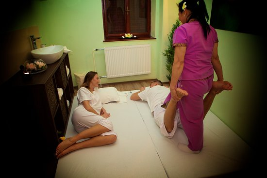 Thajsky kvet - Thai massage