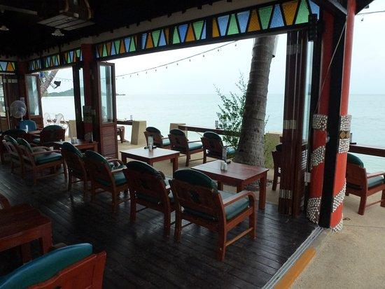 Chaba Cabana Beach Resort: Gedeelte van het restaurant