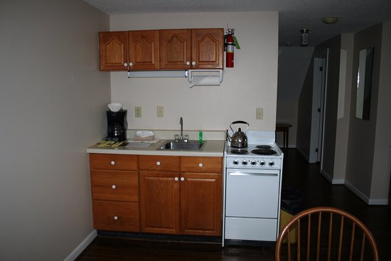 Wolfeboro, Nueva Hampshire: Main Inn kitchen