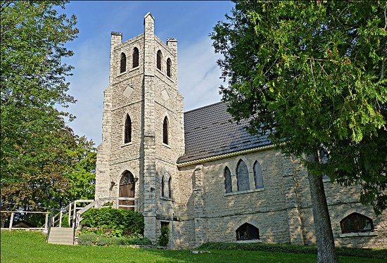 Trinity Anglican, Wiarton - Outside