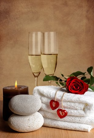 Uvongo, Sydafrika: We offer Sparkling Wine and Delicious Spa Platters to make your Spa Day Extra Special