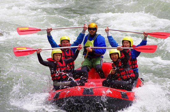 Valais Wallis Adventures: Rhone Splash Family Trip
