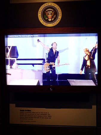 Newseum: video about politicians using popular music in their campaign