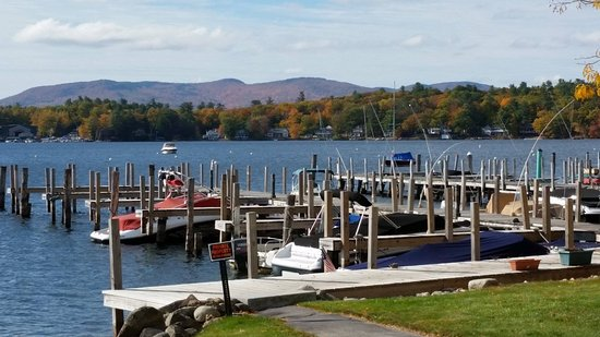 Wolfeboro, NH: Lake docks