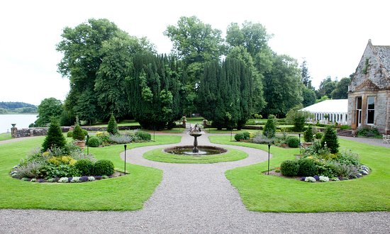 Castle Leslie Estate: The Pleasure Gardens at The Castle