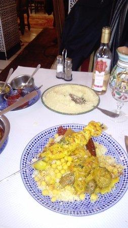 Villebon-sur-Yvette, ฝรั่งเศส: Couscous