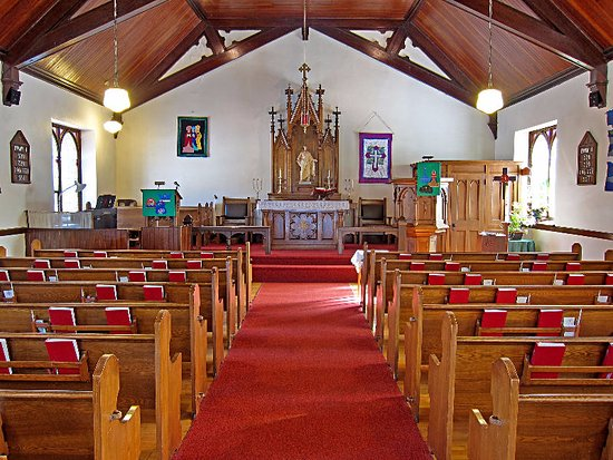 St. Peter's Lutheran Church, Wiarton - Inside