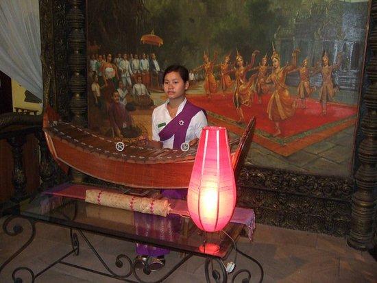 Bopha Angkor Restaurant: musica en vivo