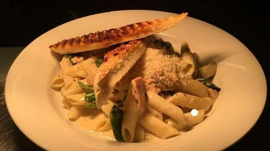 Athlone, Irlanda: Our penne pasta Carbonara