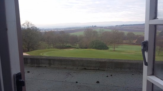Scone, UK: View over the golf course and beyond